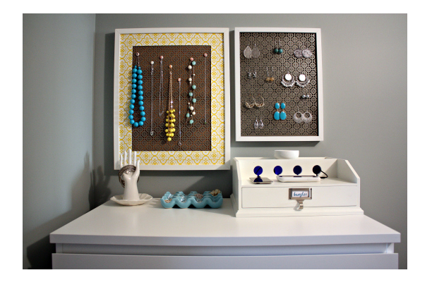 iheartorganizing DIY Jewelry Storage