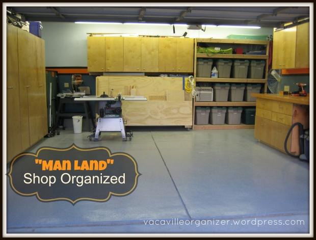 Shop Organized