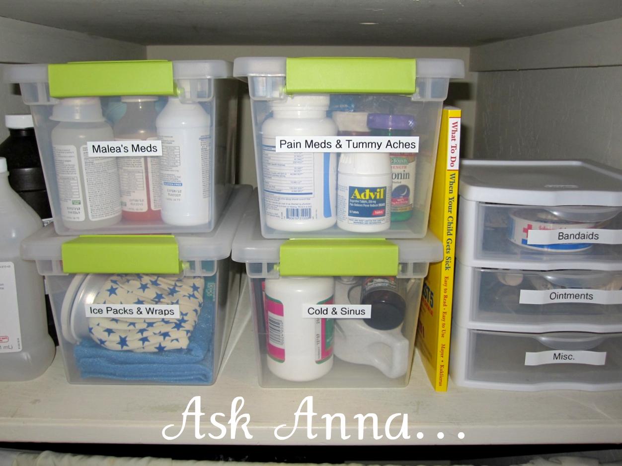Bathroom Cabinet Organizer Medication Storage Vacaville Organizerthe Blog