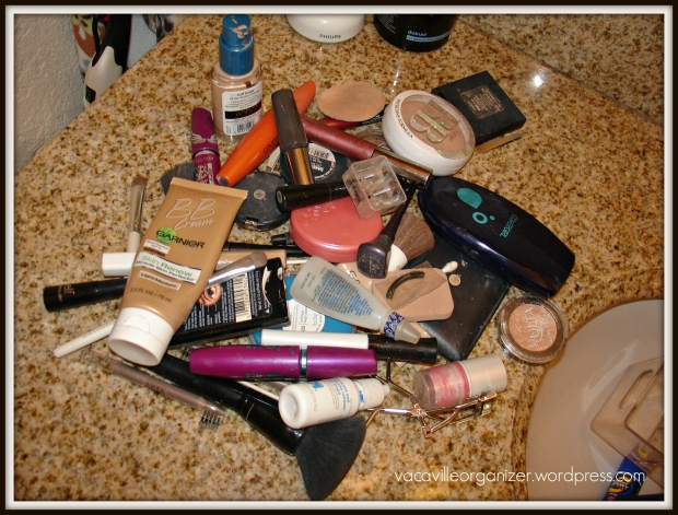 pile of make-up