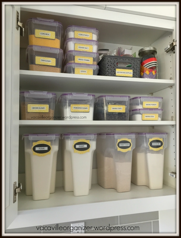 Could A Baking Center Help You Get Organized In The Kitchen Vacaville Organizer The Blog